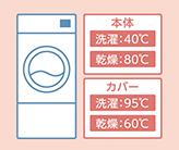 洗濯・乾燥条件